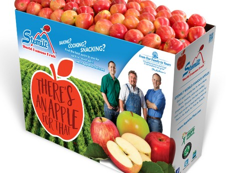 Launch of new promotional ideas for the organic apple category